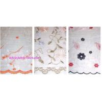 Quality Organza Embroidery Fabric wholesale
