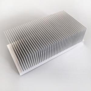 Cooling Temperature High Power Aluminium Heat Sink Profiles 200(W)*60(H)*120(L)Mm