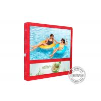 Buy cheap Red Colour Wall Mount LCD Display Light Box 27 Inch For Elevator Advertising from wholesalers
