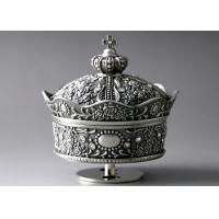 Quality European Crown Design Metal Decorations Crafts , Clockwork Classic Music Box wholesale