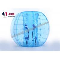 Quality 1.5m Strong PVC Inflatable Soccer Ball Suit Inflatable Ball Game Human Bubble Wrap Suit Knock Ball wholesale