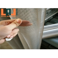 China Super Thin Micro Fluorocarbon Spraying Expanded Metal Wire Mesh Customized Roll for sale