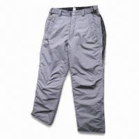 Quality Ski Pants with Polyester Lining and Padding wholesale
