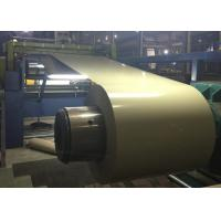 China Durable Color Coated Steel Coil 3 - 8 Ton Coil Weight Corrosion Resistance on sale