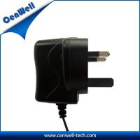China cenwell ac dc uk plug power ac adaptor 12v 500ma on sale