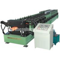 Quality 0.5mm - 1.2mm Channel Roll Forming Machine PLC For Drain Pipe Making wholesale
