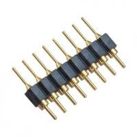 Quality DIP WCON Connector PCB 2.54mm Round Pin Connector 8 Pin With PPS PA46 Or PA6T Insulator wholesale