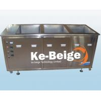 Quality 3 Tank Industrial Ultrasonic Cleaner Supersonic Cleaner For Gear Wheel Cleaning wholesale
