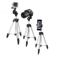 "40"" Inch Aluminum Camera Tripod + Universal Smartphone Holder Mount for iPhone"