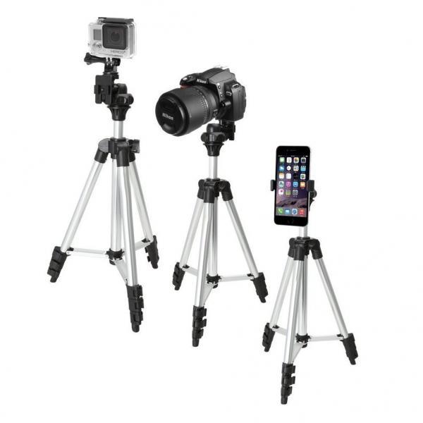 Cheap 40 Inch Aluminum Camera Tripod + Universal ...