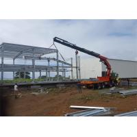 Quality Economical design big wind load steel warehouse in Mauritius wholesale