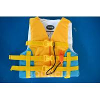 Quality PVC Foam Material Life Vest / Kids Life Jacket For Water Sport Games wholesale