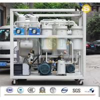 China Transmission Lube Oil Purification System , Dehydration Multi Stage Lube Oil Purifier on sale