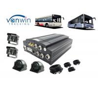 China Public Bus Wifi Router 3G Mobile DVR GPS 4CH Hard Disk With Sim Card 8V - 36V on sale