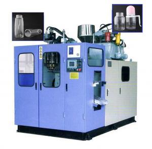 China 100-2000ml Small Plastic Bottle Making Machine , Semi Automatic PET Bottle Blowing Machine on sale
