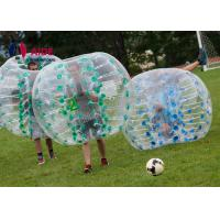 Cheap CE 1.2m Pvc Inflatable Sports Equipment Football Suit Human Hamster Ball for sale