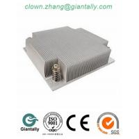 Quality manufacturing extruded aluminium heat sink (extruded heat sink, aluminum heat sink bar) wholesale