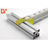 Quality Cold Welded Plastic Roller Track Recycling 4033 / 6025 Size For Assemble Line wholesale
