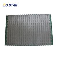 China Chinese Gold Manufacturer Oil Drilling Equipment Shale Shaker Part High Vibrating Shaker Screen Wave Mesh on sale