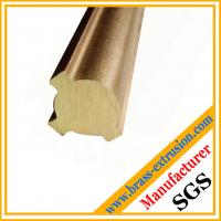 Quality brass extruded rods brass bars valve sections brass profiles wholesale