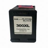 China Ink Cartridges for HP301XL , CH564EE, HP301, CH561EE, HP300XL, CC644EE, HP300 and CC640EE on sale