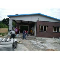 China Fast Construction Premade Steel Structure Homes / Light Gauge Steel Building House on sale