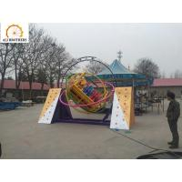 Quality ISO Certificated Human Gyroscope Ride , Stimulating Gyro Ball Ride wholesale