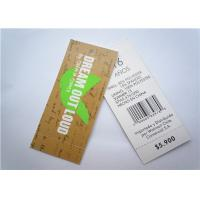 Quality Recyclable Clothing Label Tags Jeans Paper Hang Tag Garment Accessory wholesale