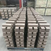 Quality Common Kiln Refractory Bricks , Phosphate Bonded High Alumina Bricks Heat Resistant wholesale