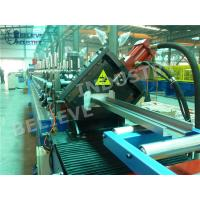 Buy cheap Door Frame Roll Forming Machine , Hydraulic Cutting Type Roll Forming Equipment from wholesalers