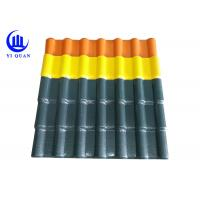 Quality Looks Synonymous With Clay Roof Tile Bamboo Synthetic Resin Roof Tile wholesale
