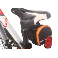 Quality Waterproof Saddlebags For Bicycles , Seatpost Bags For Bicycles Large Capacity wholesale