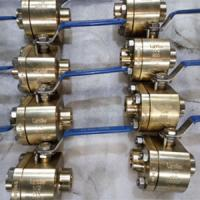 Quality ASTM B148 NPT Thread Ball Valve Nickel Aluminum Bronze C95800 DN25 800LB Locking device wholesale