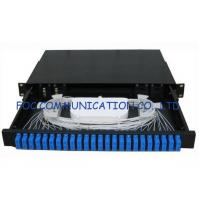 Quality Sliding Type Rack Mount Fiber Optic Patch Panel SC 24Port for Fiber network installation wholesale