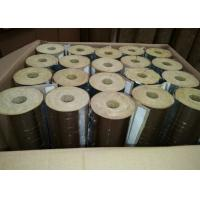 China Rock Wool Pipe With Aluminium Foil on sale