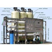 Quality RO System Drinking Water Treatment Machine / Plant For Pure Water Production Line wholesale