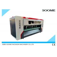 China Corrugated Box Making Machine Thin Blade Corrugated Cardboard NC Slitter Scorer Machine on sale