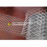 Quality Silver Color Stainless Steel Expanded Metal Mesh Durable For Construction wholesale