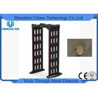Quality Multi Zone Walk Through Gate Metal Detector Door Frame Waterproof Materia wholesale
