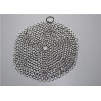Quality Multi Specifications Stainless Steel Chainmail Scrubber For Pot Cleaning wholesale