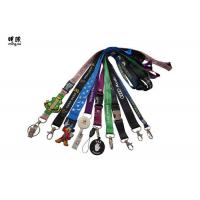 Quality Polyester Retractable Reel Badge Holder Lanyard For Kids Any Color / Logo Available wholesale