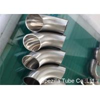 Quality Hygienic Valves And Fittings 1/2'' - 12'' , TP304 316L Stainless Steel Sanitary Weld Fittings wholesale