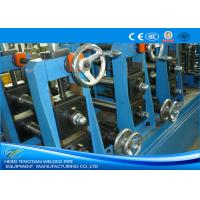 Quality TIG Welding Stainless Steel Tube Mill With Pipe Polishing Blue Colour wholesale