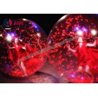 Quality Acrobatics Dance Props Human Ball Game For Stage Show , Event Inflatable Water Walk Balloon wholesale