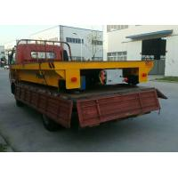 China Building Material Transfer Cart , Four Wheels Electric On Rail Transfer Cart on sale