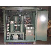 Quality Sell Enclosed Double-stage vacuum Transformer oil purifier/ Dielectric oil purification wholesale