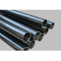 China 3K plain Carbon fiber telescopic tubes on sale