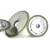 Quality Bronze Metal Bond Grinding Wheels Sapphire Ferrite Refractive Slot Shaping Usage wholesale