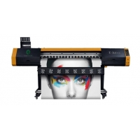 China Flatbed Inkjet Roll To Roll Digital Textile Printer 45Sqm/H 1.8m on sale