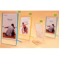 Cheap Double sided 6x4 acrylic photo frame with magnets,magnetic acrylic photo frames for sale